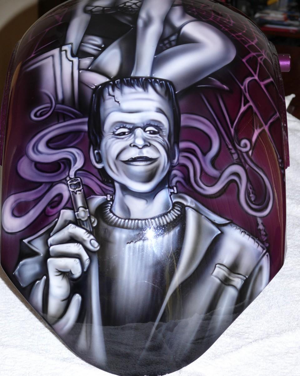 Airbrush art-airbrush chopper-airbrush motorbike-munsters5jpg