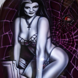 Airbrush art-airbrush chopper-airbrush motorbike-munsters7jpg