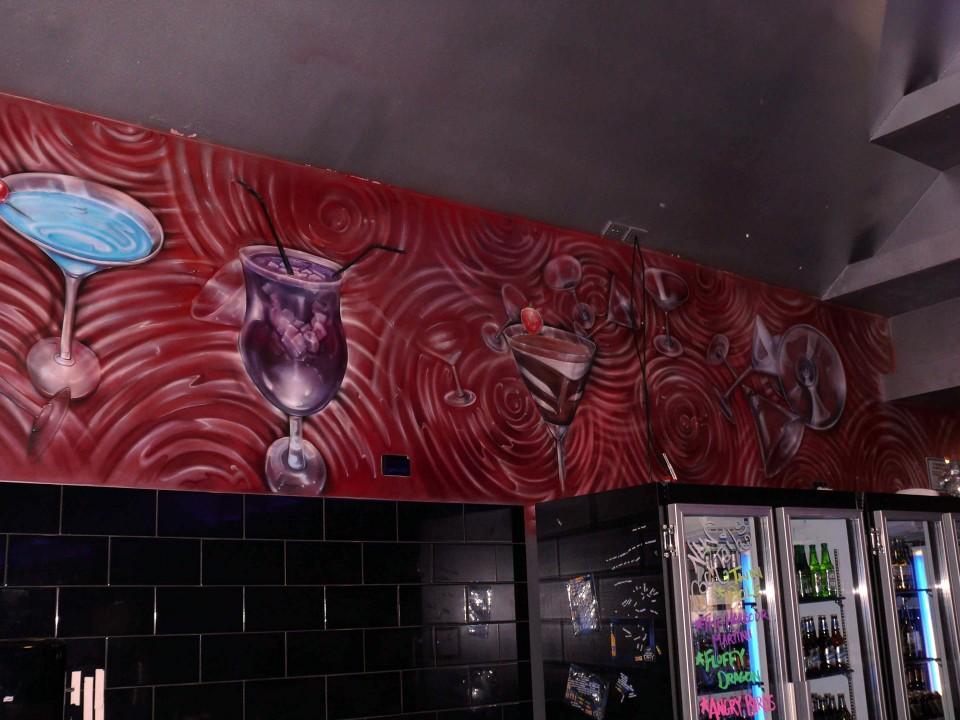 The Harbour Terrace Bar Amp Restaurant Airbrush Art