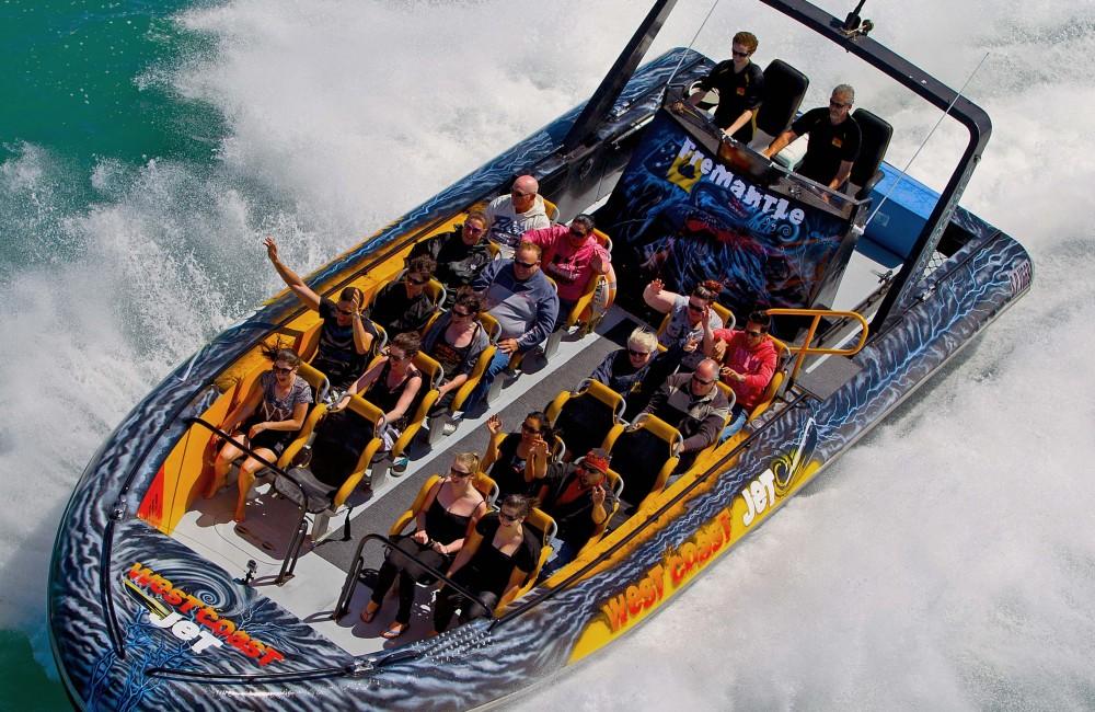 Westcoast Jet- Westcoast airbrush Jet boat- airbrush boat-airbrush art1