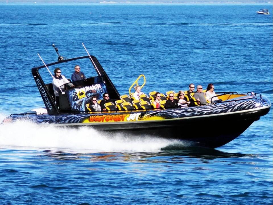Westcoast Jet- Westcoast airbrush Jet boat- airbrush boat-airbrush art2