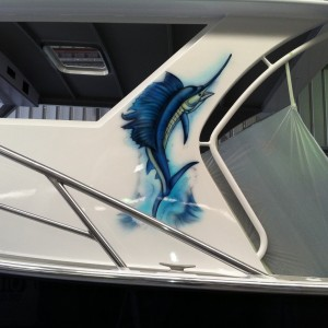 airbrush-boat-airbrush-art- airbrush-sail-fish2