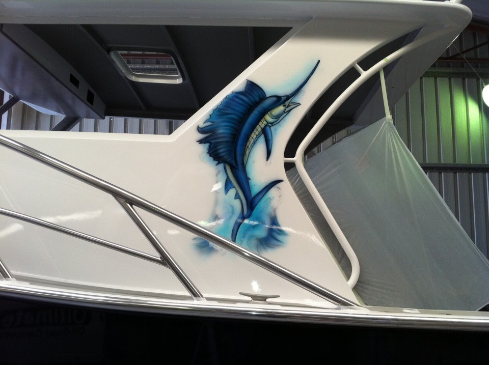airbrush-boat-airbrush-art- airbrush-sail-fish2