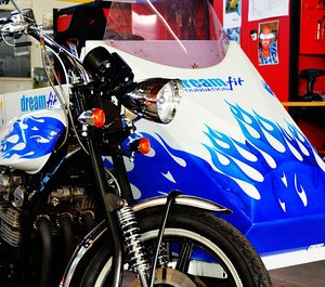airbrush dream fit motorbike and sidecar4