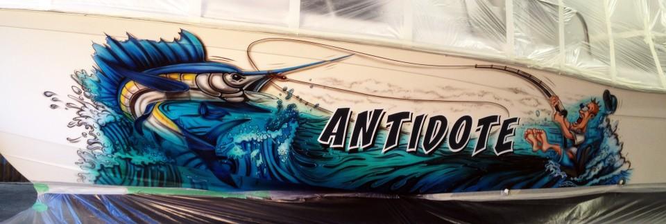 antidote-custom-airbrush-boat-western-australia-fisherman-sailfish-airbrush-art