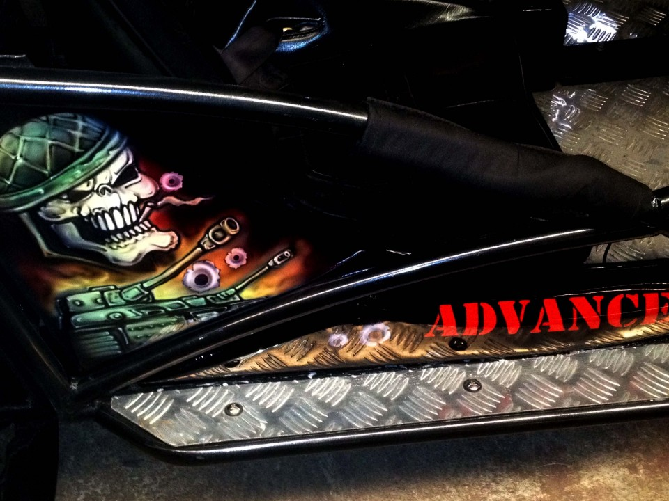 Airbrush Art-airbrush art perth-airbrush-Airbrush graphics--custom airbrush art-airbrush buggie black-airbrush car-airbrush skulls1