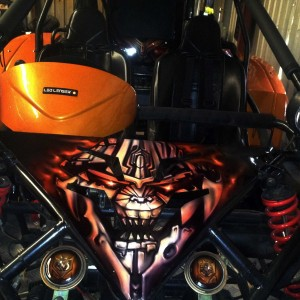 Airbrush Art-airbrush art perth-airbrush-Airbrush graphics--custom airbrush art-airbrush buggie orange-airbrush car-airbrush skulls1