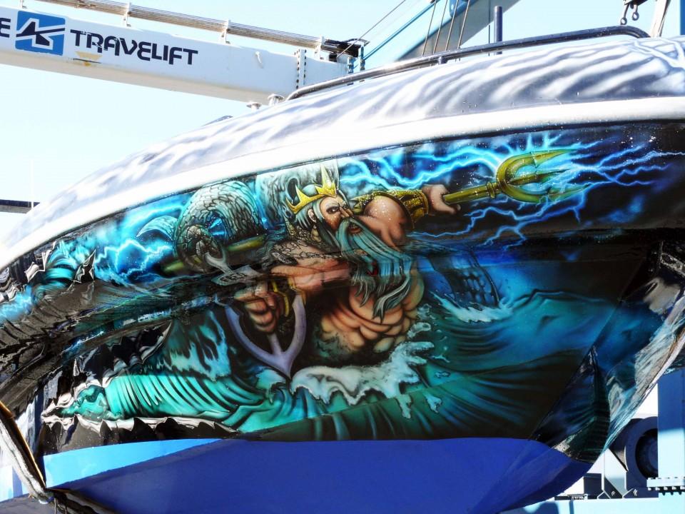 airbrush art-airbrush art perth-airbrush boats-airbrush boat graphics-boat graphics-west coast jet2