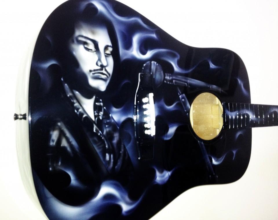 airbrush guitar, airbrush, airbrush art 2
