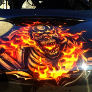 airbrush perth-airbrush art-creative airbrush art-best airbrusher- airbrush cars-skulls-flames-perth2
